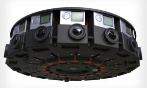 360 video camera rig